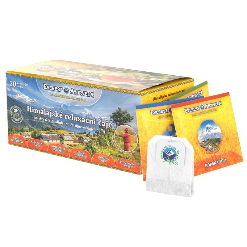 Ajurvédské čaje - Relaxační čaje v nálevových sáčcích
