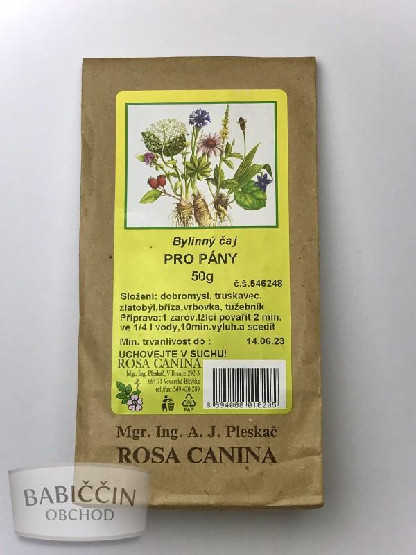 Byliny - otec Pleskač - Bylinný čaj Pro pány 50 g