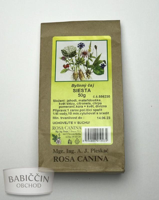 Byliny - otec Pleskač - Bylinný čaj Siesta 50 g