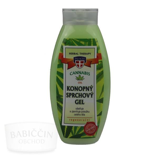 Přírodní kosmetika - Konopný sprchový gel 500 ml