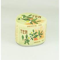 Dóza plechová trojhran Green Tea 150g