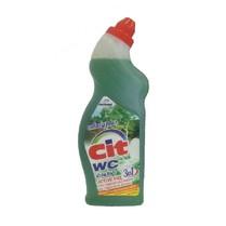 WC čistič aktivní gel - zelený eukalyptus