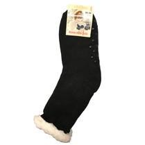 Spací ponožky jednobarevné černé