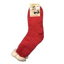 Spací ponožky jednobarevné tmavě růžové