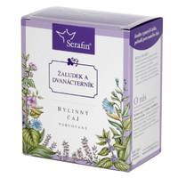 Žaludek a dvanácterník - bylinný čaj porcovaný