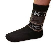 Spací ponožky pánské černé