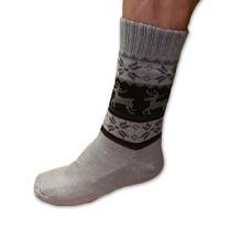 Spací ponožky pánské šedé