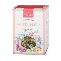 Čistá pleť - bylinný čaj sypaný