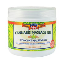 Konopný gel masážní 600 ml
