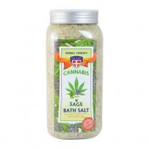 Konopná sůl do koupele + Šalvěj 900g