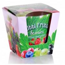 Svíčka vonná ve skle Tutti Frutti berries 115g