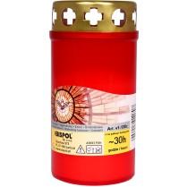 Hřbitovní svíčka červená 100 g